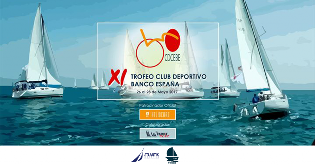 Navegando en el Velero Kais. Rumbo al XI Trofeo Club Deportivo Banco de España
