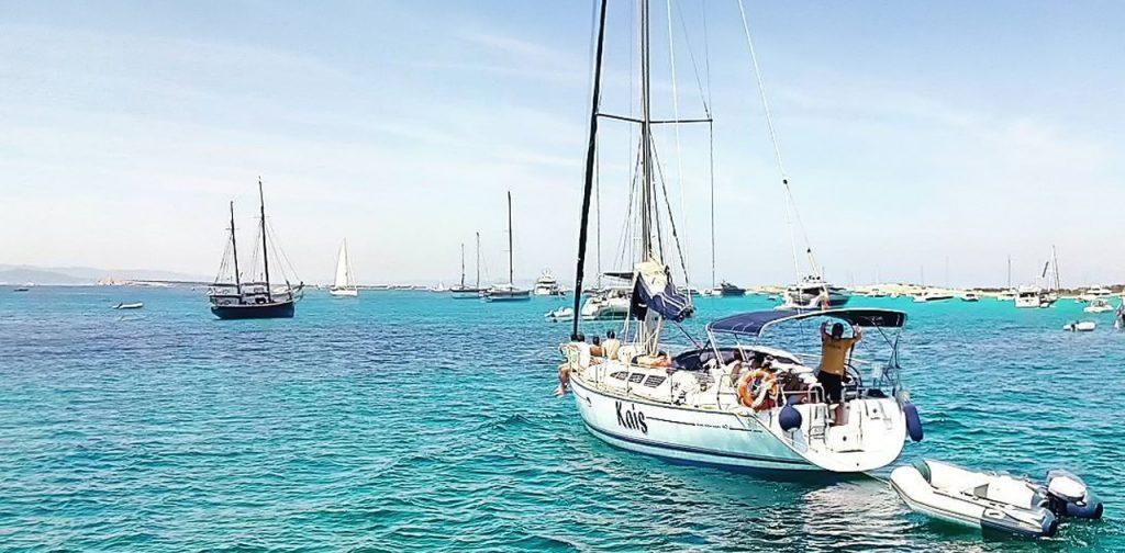 Comienza la temporada, ¡el Velero Kais surca las aguas de Ibiza y Formentera!